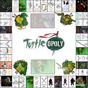 Изображения TMNT, их символика и т.п. на различных предметах - TMNT_monopoly_by_Kobb.jpg