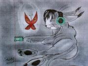 Грусть, тоска красная бабочка имеет свой символичный смысл. - Photo-0440.jpg