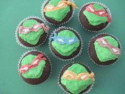 Изображения TMNT, их символика и т.п. на различных предметах - Черепашки Ниндзя - пирожные.jpg