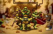 Обои TMNT - teenage_mutant_ninja_turtles_by_iangoudelock-d37o8oe.jpg