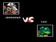 Teenage Mutant Ninja Turtles: Tournament Fighters NES  - Shredder-vs-Leo.png