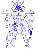 TMNT рисунки от Evil Shredder - Shredder.jpg