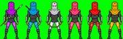 Футовые солдаты андроиды Foot Ninja Soldiers androids  - foot clan 1.jpg