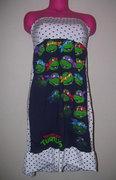Изображения TMNT, их символика и т.п. на различных предметах - Черепашки Ниндзя - платье.jpg