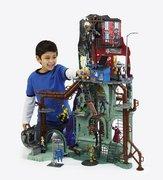 Игрушки и фигурки TMNT общая тема  - логово черепах.jpg