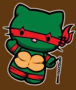 Изображения TMNT, их символика и т.п. на различных предметах - Китти черепашка ниндзя.jpg