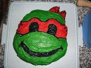 Изображения TMNT, их символика и т.п. на различных предметах - Рафаэль торт.jpg