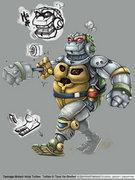 TMNT: Turtles in Time Re-Shelled Xbox Live Arcade, PSN  - TMNT_MetalHead.jpg