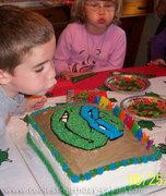 Изображения TMNT, их символика и т.п. на различных предметах - Черепашки Ниндзя - торт (13).jpg