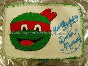 Изображения TMNT, их символика и т.п. на различных предметах - Черепашки Ниндзя - торт (6).jpg