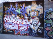 Изображения TMNT, их символика и т.п. на различных предметах - Crang & Shredder graffiti.jpg