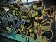 Изображения TMNT, их символика и т.п. на различных предметах - TMNT_Spray_Paint_by_DaveSchultz.jpg