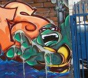 Изображения TMNT, их символика и т.п. на различных предметах - Граффити Рафаэль 1.jpg