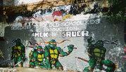 Изображения TMNT, их символика и т.п. на различных предметах - Черепашки Ниндзя, граффити из Далласа.jpg