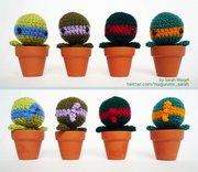 Изображения TMNT, их символика и т.п. на различных предметах - Teenage-Mutant-Ninja-Turtles-cacti-crochet by Sarah Weigel.jpg