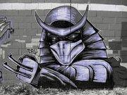 Изображения TMNT, их символика и т.п. на различных предметах - Shredder graffiti by Zepol (6).jpg