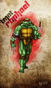 Зарубежный Фан-Арт - Raphael TMNT by 12King.jpg