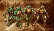 Зарубежный Фан-Арт - TMNT - Brothers II by 12King.jpg