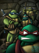 Зарубежный Фан-Арт - Teenage_Mutant_Ninja_Turtles_by_ninjatron.jpg