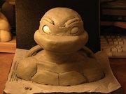 Игрушки и фигурки TMNT общая тема  - Mikey_Sculpture_WIP_by_Ninja_Turtles.jpg