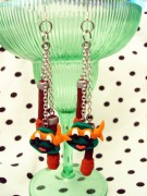 Изображения TMNT, их символика и т.п. на различных предметах - Черепашки Ниндзя - серьги (1).jpg