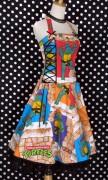 Изображения TMNT, их символика и т.п. на различных предметах - Черепашки Ниндзя - платье (2).jpg