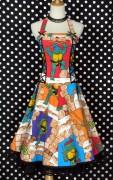 Изображения TMNT, их символика и т.п. на различных предметах - Черепашки Ниндзя - платье (1).jpg