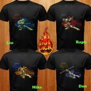 Изображения TMNT, их символика и т.п. на различных предметах - Черепашки Ниндзя - футболки.jpg