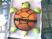 Изображения TMNT, их символика и т.п. на различных предметах - Черепашка - торт.jpg
