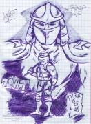 TMNT рисунки от KomicsF@n - Shredder.jpg