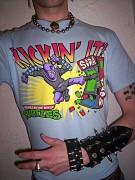 Изображения TMNT, их символика и т.п. на различных предметах - Солдат Фут - футболка.jpg