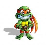 Зарубежный Фан-Арт - Turtle_Ninja___Mike___Chibi_by_Felipe_Rodrigues.jpg
