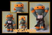 Игрушки и фигурки TMNT общая тема  - Микеланджело - амигуруми.jpg