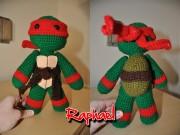 Игрушки и фигурки TMNT общая тема  - Рафаэль - амигуруми.jpg