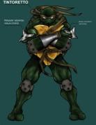 Зарубежный Фан-Арт - Пятая Черепашка Ниндзя (1) by armor9.jpg