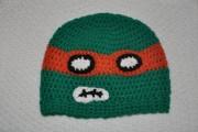 Изображения TMNT, их символика и т.п. на различных предметах - Майки - вязаная шапочка (перед).jpg