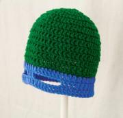 Изображения TMNT, их символика и т.п. на различных предметах - Лео - вязаная шапка.jpg