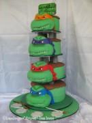 Изображения TMNT, их символика и т.п. на различных предметах - Черепаший тортик.jpg