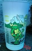 Изображения TMNT, их символика и т.п. на различных предметах - Черепашки ниндзя - стаканчик.jpg