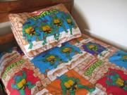 Изображения TMNT, их символика и т.п. на различных предметах - Черепашки - постельное белье.JPG