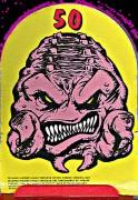 Изображения TMNT, их символика и т.п. на различных предметах - Мишень. Попади в Кренга - заработай 50 очков (авторы - Бергер и Тэлбот).jpg