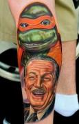 Татуировки по TMNT - michelangelo-de-las-tortugas-ninjas-y-walter-disney.jpg