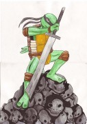 TMNT рисунки от miky - Слэш.jpg