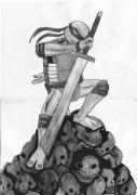 TMNT рисунки от miky - Слэш2.jpg