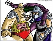 Зарубежный Фан-Арт - Shredder__Krang_and_The_Joker_by_UBob.jpg