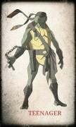 Зарубежный Фан-Арт - TMNT Michelangelo by devilmonkey.jpg