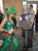 Косплей на Черепашек Ниндзя - Raphael & Shredder (cosplay).jpg