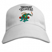 Изображения TMNT, их символика и т.п. на различных предметах - Бейсболка с черепашкой.png
