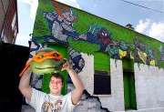 Изображения TMNT, их символика и т.п. на различных предметах - Черепашки Ниндзя граффити.jpg