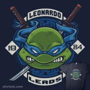 Изображения TMNT, их символика и т.п. на различных предметах - Leonardo-Leads by Crystal Fontan aka Bamboota.jpg